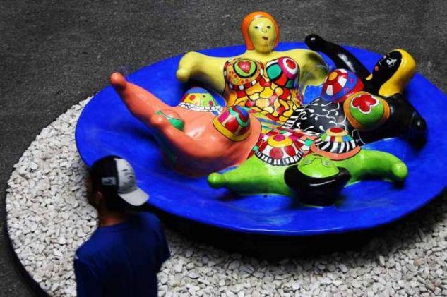 LOS PASAJEROS 02 Conceptual/Abstracto Color (Digital)