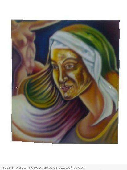 la modelo Canvas Oil Figure Painting