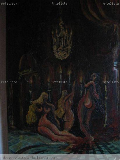 Tres mujeres del sentimiento Tabla Otros Desnudos