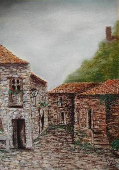 Casas rurales Pastel Papel