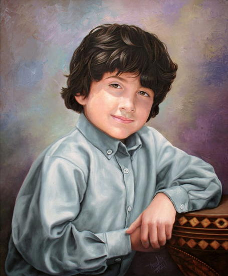 Retrato Canvas Oil Portrait