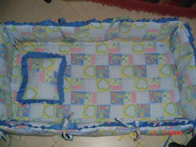 Lenceria cuna bebe Modistería y Patronaje Textil