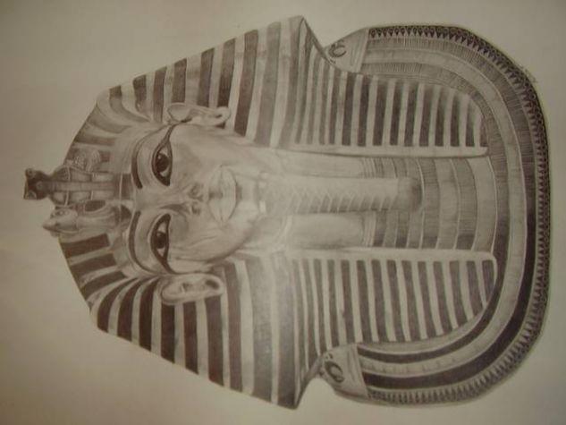 Tutankamón Grafito