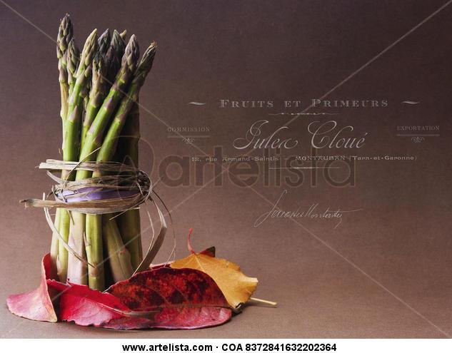 asparagus y el otoño.
