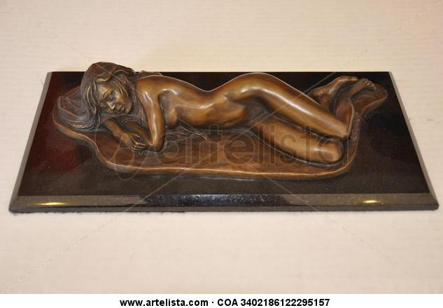 Alfonsina en el Mar Bronce Figurativa