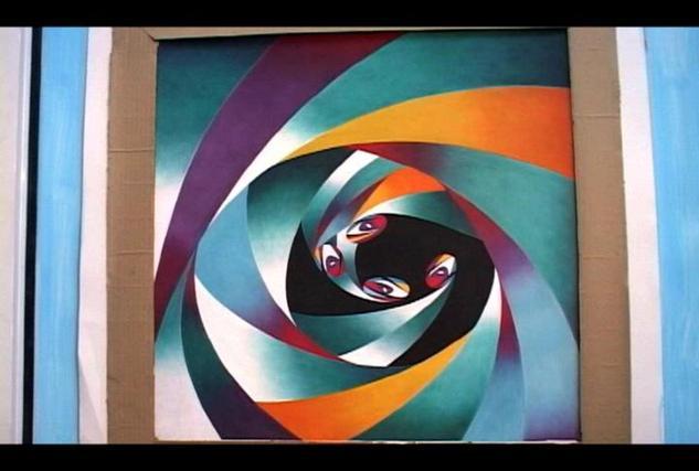 Instinto abstracto dennis lopez rosales - Pintura instinto ...