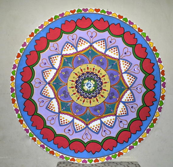 Mandala para Violeta Others Acrylic Panel