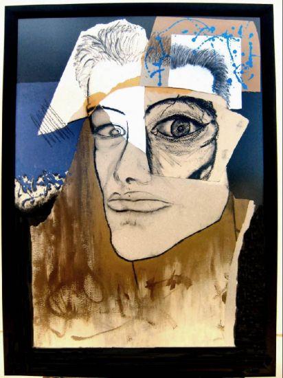 Someone I Know nº 4 Acrílico Cartulina Retrato