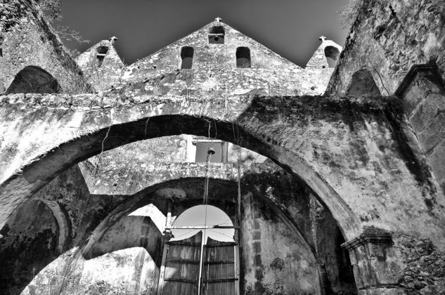 Iglesia de Ticun , Yucatán  Architecture and Interiorism Black and White (Digital)