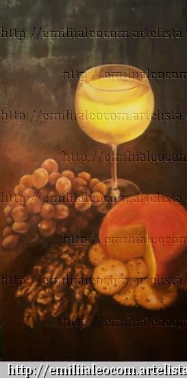 INTIMIDADES Oil Panel Still Life Paintings