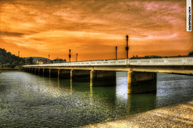 Asturias Bridge Travel Color (Digital)