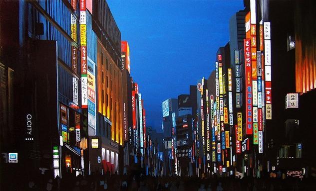 Shinjuku, Tokyo #1 Tabla Otros Paisaje