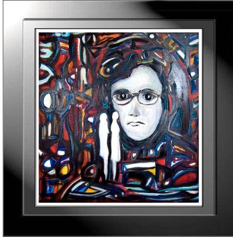 autoretrato Acrílico Tela Retrato