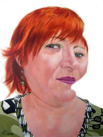 MARIA Portrait Acrylic Canvas