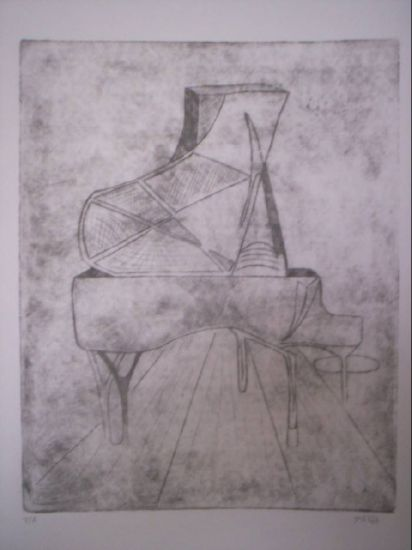 piano Etching Process