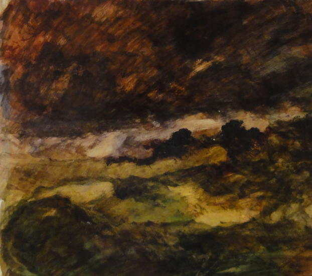 PAISAJE ATARDECIENDO -2-Landscape dusk-2-