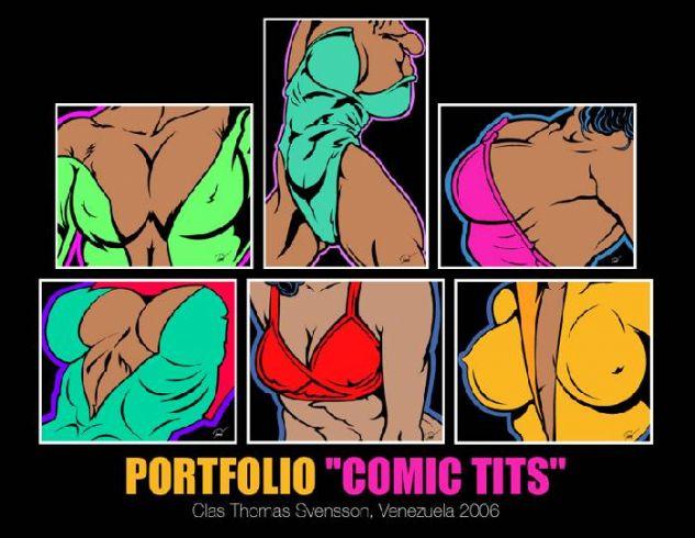 Portafolio Cartoon Tits