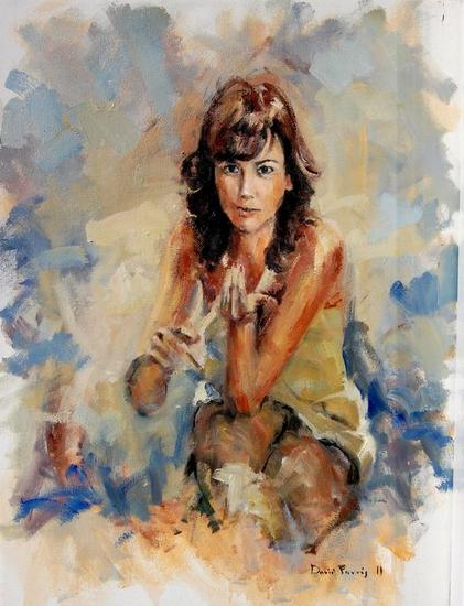 Retrato 2011 Oil Canvas Portrait