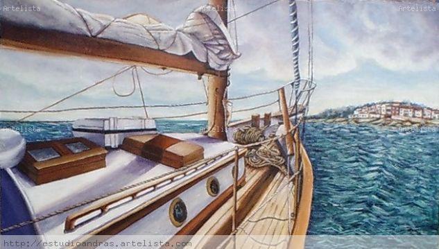Navegando hacia el Roc de San Cayeta