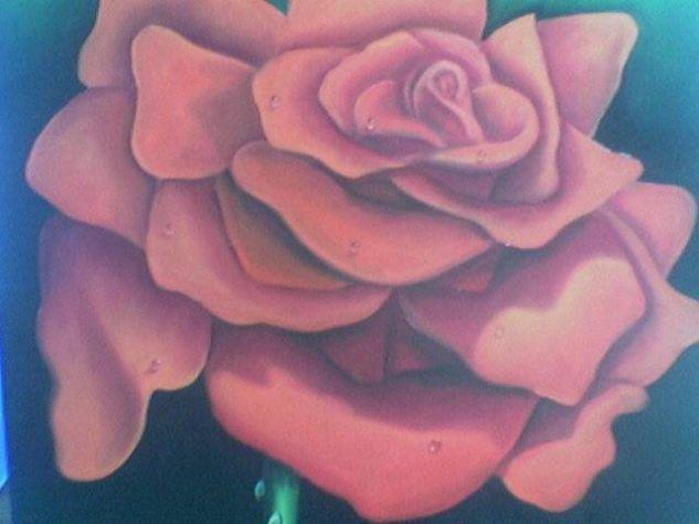 Pasion Óleo Lienzo Floral
