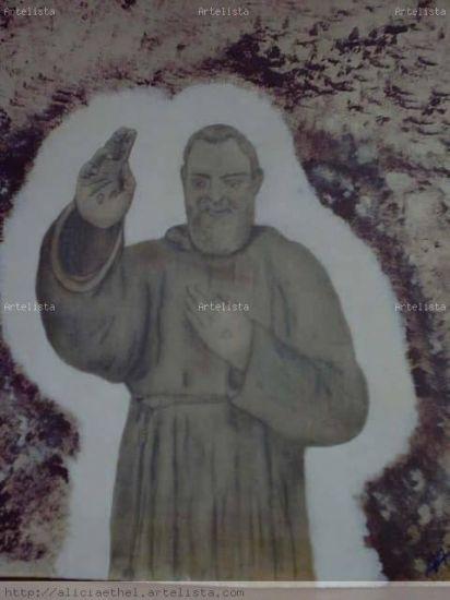 Santo Padre Pío Otros Tabla Otros