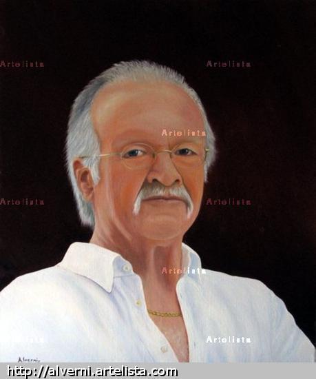 M. ROLAND Lienzo Óleo Retrato