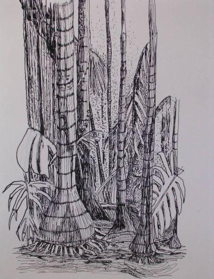 Tropics in black Ink