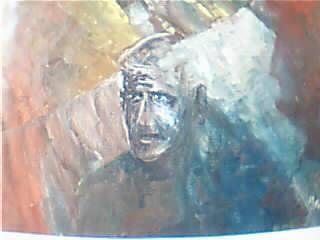 Jubilado Oil Canvas Figure Painting