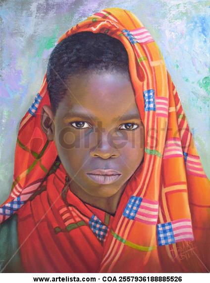 niño de raza negra 35