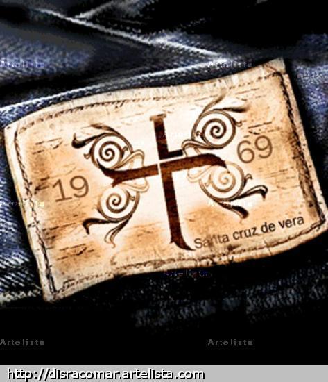 badana cuerito de jeans estampados
