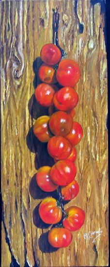 tomates Óleo Lienzo Bodegones