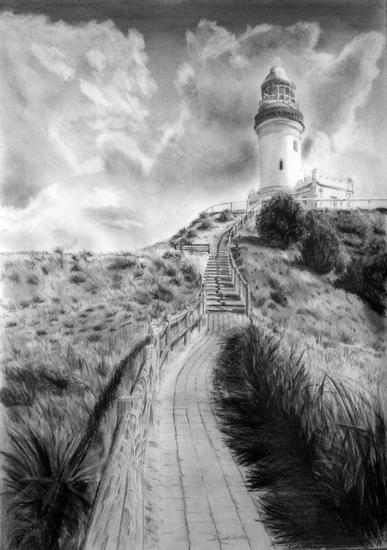 Faro de Byron, Australia Graphite