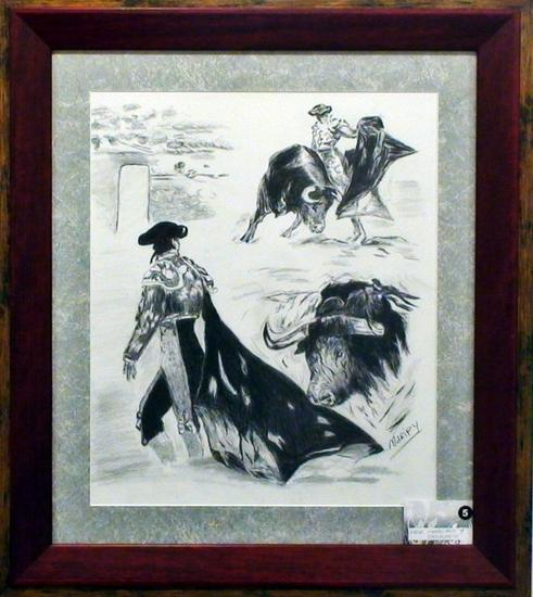 plumilla torero Cartulina Lápiz (Negro) Animales