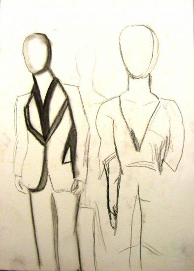 Boceto de moda francisco leyton hernandez - Pinturas de moda ...