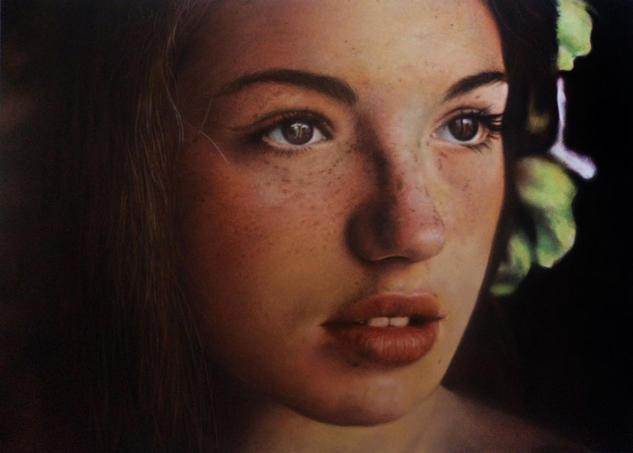 Ninfa Tabla Pastel Retrato