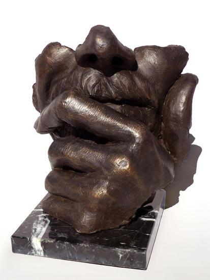 Pensante Bronce Figurativa