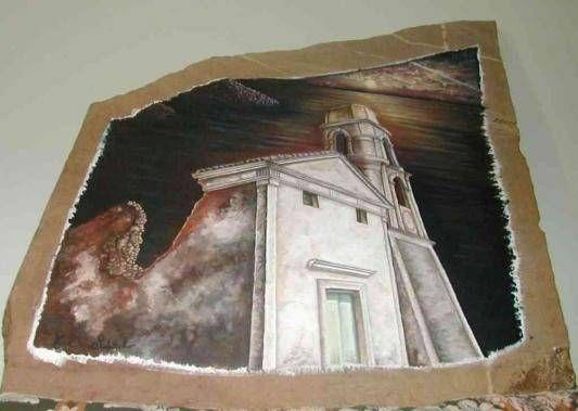 church Óleo Otros Figura