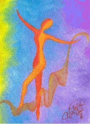 Sueño Multicolor Óleo Lienzo