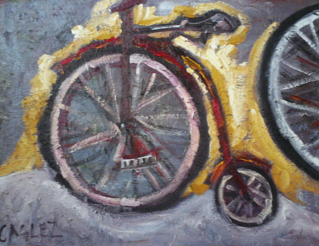 Monociclo Oil Canvas Others