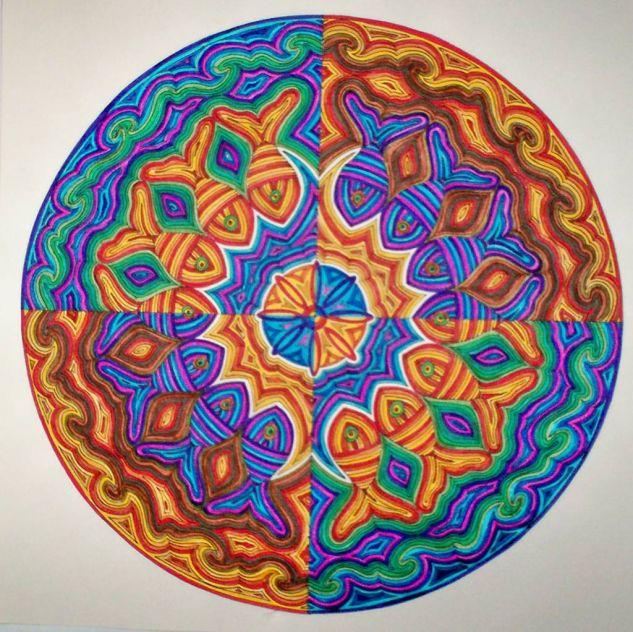Mandala 3- Peces