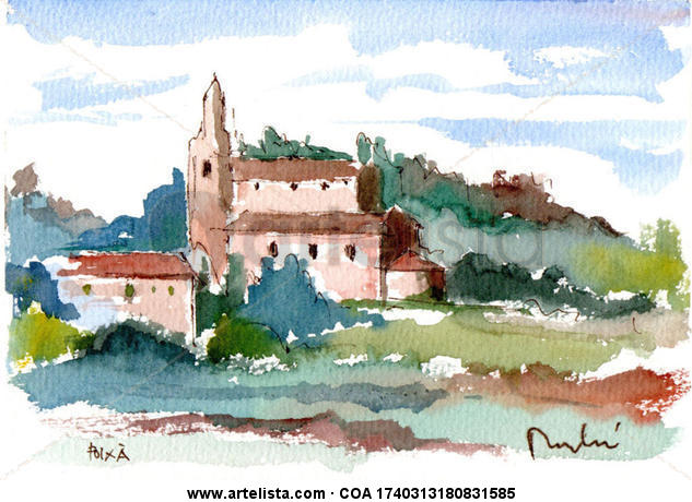 foixa Landscaping Watercolour Paper