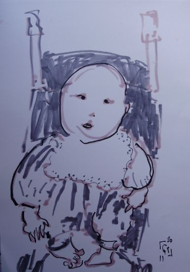 Beb Felt-tip pen Paper Figure Painting