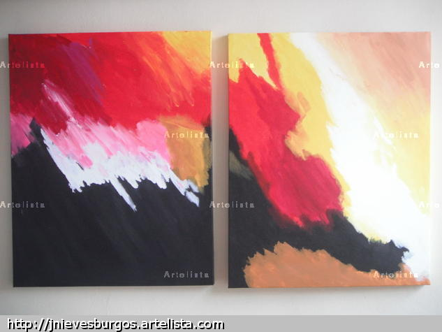 Abstracto1 Canvas Others Acrylic