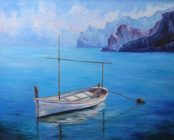 Llaud Lienzo Óleo Marina