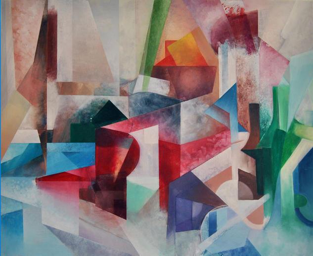 Cubismo I Lienzo Óleo Bodegones