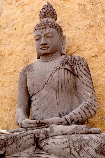 Buda meditando Piedra Figurativa