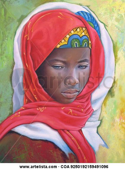 niña de raza negra 30