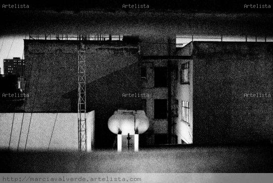 Silencios Urbanos 5 Conceptual/Abstract Black and White (Digital)