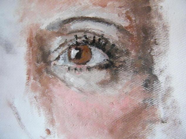 Amanda Óleo Retrato Lienzo
