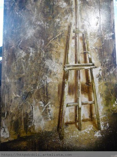 pintura de caballete Óleo Lienzo Paisaje